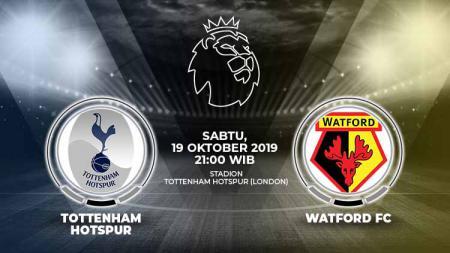 Prediksi pertandingan Liga Inggris antara Tottenham Hotspur vs Watford di pekan ke-9, Sabtu (19/10/19), pukul 21.00 WIB, di Stadion Tottenham Hotspur. - INDOSPORT