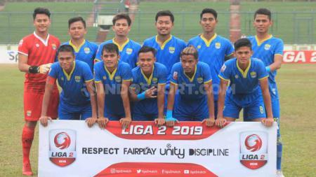 Klub Liga 2 2019, Blitar Bandung United harus terdegradasi musim ini karena menempati peringkat akhir klasemen Wilayah Barat. - INDOSPORT