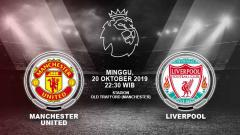 Indosport - Pertandingan Manchester United vs Liverpool.