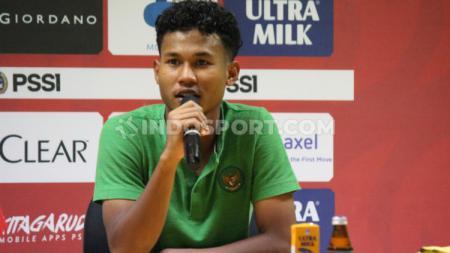 Bagas Kaffa teken kontrak di Barito Putera hingga tahun 2023, selangkah menuju Piala Dunia U-20 2021. - INDOSPORT