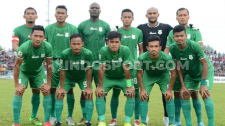 Skuat klub Liga 2, PSMS Medan. - INDOSPORT