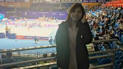 Indosport - Potret Imut Pebulutangkis Macau Ng Weng Chi.