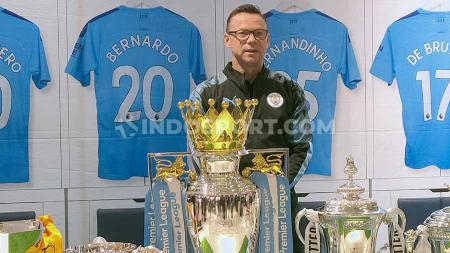 Pemain legenda dari klub sepak bola Manchester City, Paul Dickov berharap Sergio Aguero bisa menjadi penyelamat tim dalam kompetisi Liga Inggris musim ini. - INDOSPORT