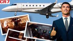 Indosport - Pesawat Jet Pribadi milik Cristiano Ronaldo