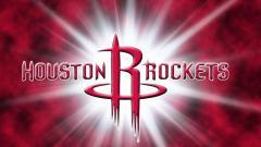 Indosport - Logo Houston Rockets, salah satu tim NBA.