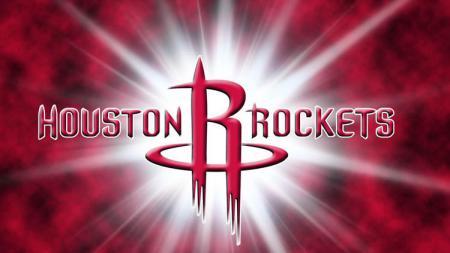 Logo Houston Rockets, salah satu tim NBA. - INDOSPORT