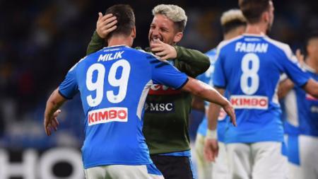 Juventus disebut telah mencapai kesepakatan personal dengan Arkadiusz Milik dan tinggal merampungkan negosiasi dengan Napoli. - INDOSPORT