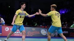 Indosport - Turnamen French Open 2019 akan mulai bergulir mulai Selasa (22/10/19), tetapi ada yang menarik di turnamen itu, yakni hilangnya rival abadi Kevin/Marcus.