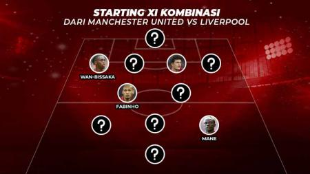 Starting XI Kombinasi dari Manchester United vs Liverpool - INDOSPORT