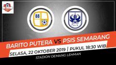 Indosport - Berikut link live streaming Liga 1 2019 antara Barito Putera vs PSIS Semarang di Stadion Demang Lehman, Martapura, Kalimantan Selatan, Selasa (22/10/19)