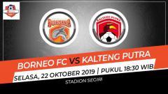 Indosport - Prediksi Borneo FC vs Kalteng Putra