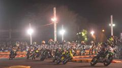 Indosport - Sirkuit di area parkir barat Stadion Kanjuruhan, Kabupaten Malang, kembali dipilih oleh Panitia Pelaksana Trial Game Asphalt (TGA), sebagai bagian serinya.
