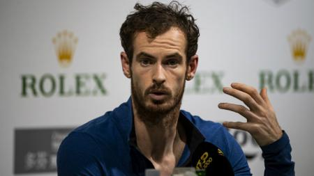 Andy Murray sukses melangkah ke partai final pertamanya pasca cedera, dalam gelaran European Open 2019. - INDOSPORT