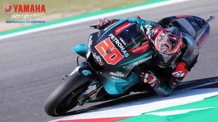 Hasil latihan bebas atau free practice ke-2 MotoGP Malaysia telah berakhir dan pembalap Yamaha yang bernama Fabio Quartararo sukses jadi yang tercepat. - INDOSPORT