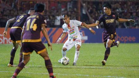 Persija Jakarta saat melawan PSM Makassar pada lanjutan Liga 1 di Stadion Andi Mattalatta, Minggu (20/10/2019) - INDOSPORT