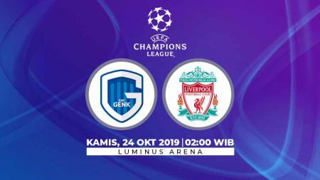 Liverpool diprediksi akan memutus tren positif Genk di Belgia dalam laga ketiga grup E Liga Champions 2019/20 di Luminus Arena, Kamis (24/10/19), 02.00 WIB. - INDOSPORT