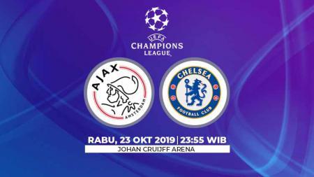 Prediksi pertandingan Liga Champions, Ajak Amsterdam vs Chelsea. - INDOSPORT