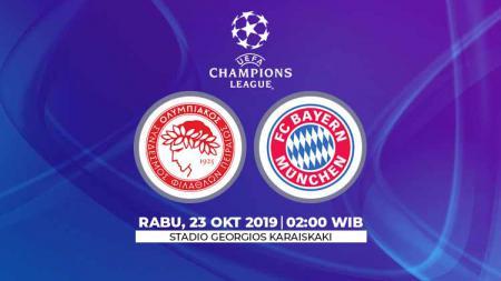 Laga Olympiakos vs Bayern Munchen bisa disaksikan melalui live streaming - INDOSPORT