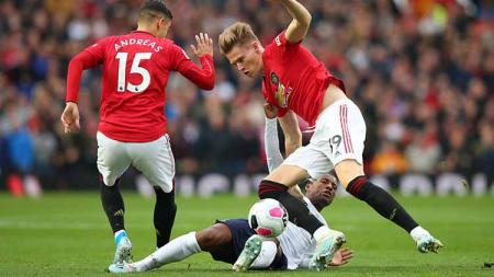 Berikut lima pertandingan klasik antara Manchester United vs Liverpool di Piala FA. - INDOSPORT