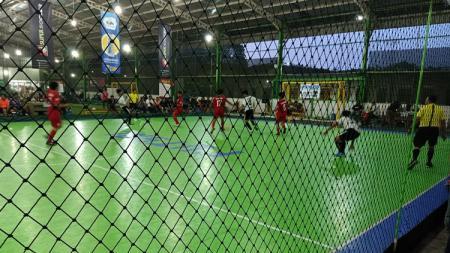 Pertandingan Kualifikasi Euro Futsal Championship 2019 area Banten di Stadiums Futsal, Tangerang, Sabtu (19/10/19). - INDOSPORT