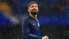 Indosport - Olivier Giroud, penyerang Chelsea akan didatangkan oleh Olympique Lyon jika Manchester United mendatangkan salah satu striker mereka, Moussa Dembele