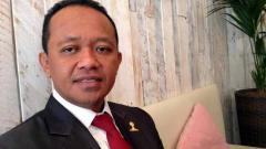 Indosport - Ketua Hipmi Bahlil Lahadalia yang disebut sebagai calon Menpora.