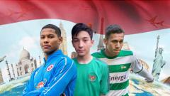 Indosport - Jack Brown, Darren Sidoel, dan Egy Maulana Vikri pemain Indonesia yang main di luar negeri