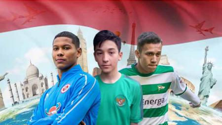 Jack Brown, Darren Sidoel, dan Egy Maulana Vikri pemain Indonesia yang main di luar negeri - INDOSPORT