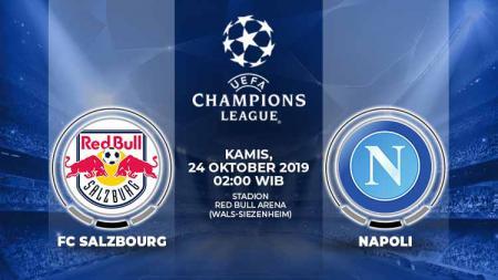 Berikut prediksi pertandingan Red Bull Salzburg vs Napoli dalam ajang Liga Champions 2019-2020 Grup E, Kami (24/10/19) - INDOSPORT