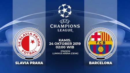 Barcelona memanfaatkan penundaaan laga El Clasico melawan Real Madrid jelang pertandingan Liga Champions melawan Slavia Praha. - INDOSPORT