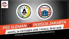 Indosport - Prediksi pertandingan PSS Sleman vs Persija Jakarta.
