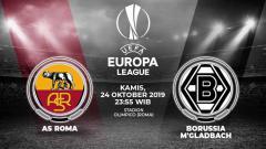 Indosport - Berikut prediksi pertandingan AS Roma vs Borussia Monchengladbach dalam lanjutan Liga Europa 2019-2020 Grup J