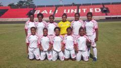 Indosport - Skuat Putri Persipura Tolikara di Liga 1 Putri 2019.
