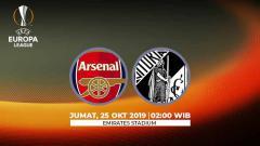 Indosport - Prediksi pertandingan Liga Europa antara Arsenal vs Vitoria de Guimaraes pada Jumat (25/10/19) dini hari WIB, laga ini bakal jadi momen bangkit The Gunners.