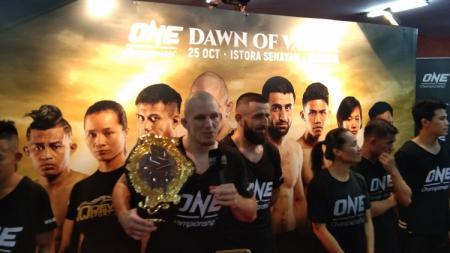 uara Dunia One Championship, Zebaztian Kadestam, siap pertahankan gelar di Jakarta - INDOSPORT