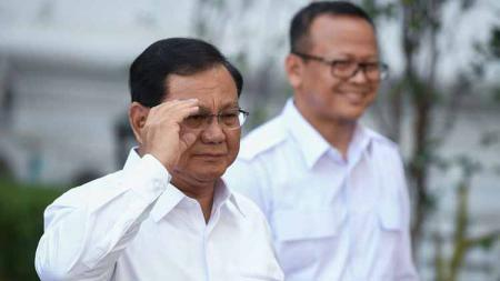 Menteri Pertahanan RI, Prabowo Subianto. - INDOSPORT