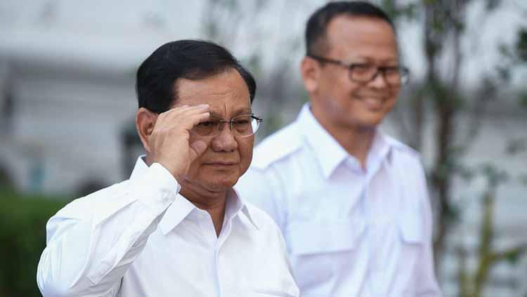 Prabowo Subianto (Menteri Pertahanan) Copyright: ANTARA FOTO/WAHYU PUTRO A