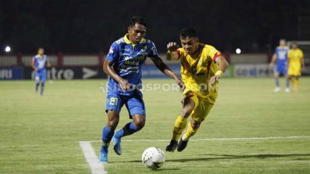 Frets Butuan mengaku senang bisa mencetak gol perdana dalam lanjutan pekan ke-25 Liga 1 2019. - INDOSPORT