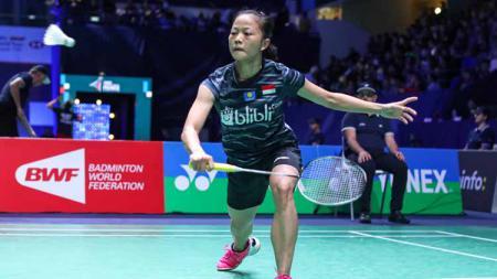 Kekalahan tunggal putri Fitriani di babak pertama Fuzhou China Open 2019 menjadi kabar buruk bagi Indonesia di BWF World Tour Finals 2019. - INDOSPORT