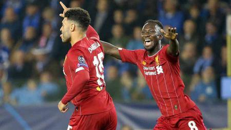 Terlepas dari trio Mohamed Salah, Sadio Mane, dan Roberto Firmino, Liverpool punya pemain krusial dalam skuatnya. - INDOSPORT
