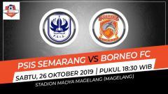 Indosport - Pertandingan PSIS Semarang vs Borneo FC.