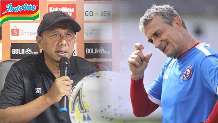 Adu Kualitas Pelatih Tira-Persikabo vs Arema: Bagus Lokal atau Asing?