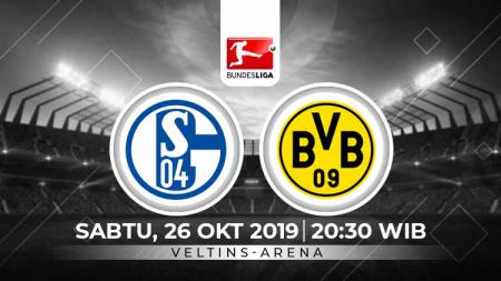 Berikut prediksi pertandingan antara Schalke 04 vs Borussia Dortmund di Bundesliga Jerman yang bertajuk The Revierderby, Sabtu (26/10/19) WIB - INDOSPORT