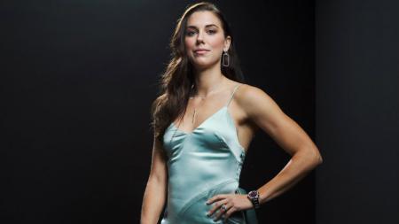 Pemain sepakbola wanita asal Amerika Serikat, Alex Morgan. - INDOSPORT
