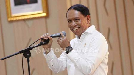 Menteri Pemuda dan Olahraga (Menpora) Zainudin Amali tidak ingin mencampuri urusan PSSI terkait pelatih Timnas Indonesia pengganti Simon McMenemy. - INDOSPORT