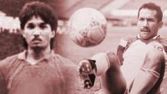 Indosport - Didik Darmadi dan Bambang Nurdiansyah, yang jadi bintang Timnas Indonesia U-19 di Piala Dunia U-20 1979.