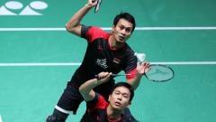 Indosport - Berita sportainment: pemain ganda putra bulutangkis Indonesia, Mohammad Ahsan, membuat netizen mabuk kepayang lantaran foto candid-nya yang diunggah BWF.