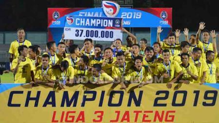 Persiku Kudus juara Liga 3 2019 zona Jawa Tengah. - INDOSPORT