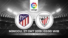 Indosport - Prediksi pertandingan pekan ke-10 LaLiga Spanyol 2019-2020 antara Atletico Madrid menjamu Athletic Bilbao di Stadion Wanda Metropolitano, Minggu (27/10/19) dini hari WIB.