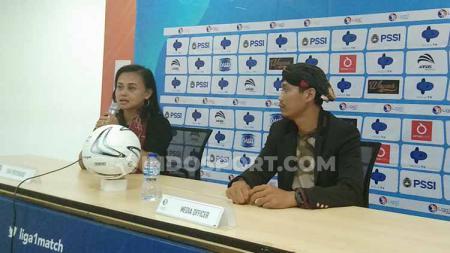 Manajer Tira Persikabo Putro, Esti Puji Lestari, mengumumkan bahwa seri kedua Liga 1 Putri Grup A siap dihelat pada 25-31 Oktober di Stadion Pakansari, Cibinong, Kabupaten Bogor, namun dihelat tanpa adanya penonton. - INDOSPORT